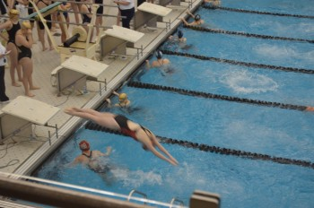 Warriors swimming earns a spot in districts