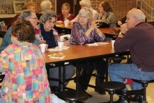 Desserts bring senior citizens and students together