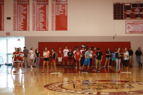 Every sport was represented in the fall sports relay.