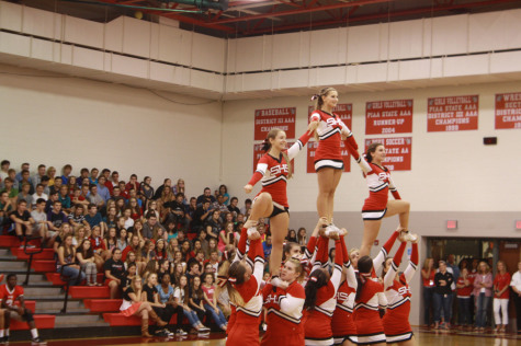 Students enjoy first Pep Rally