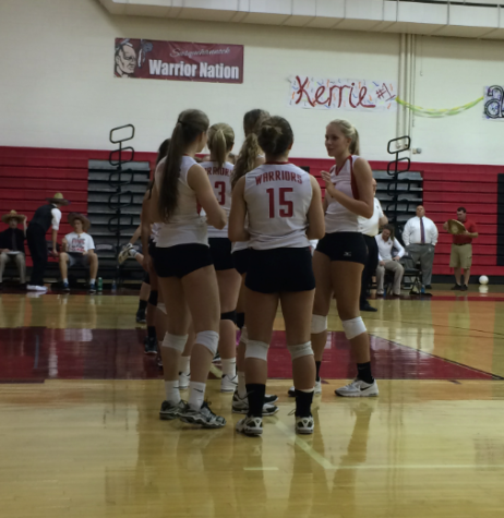 Girls Volleyball Seniors Receive Recognition