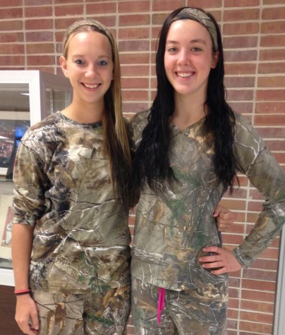 Thursday's Spirit Day: Camo Day