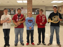 Band Students Participate in District 7 Festival