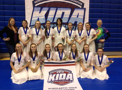 Indoor Color Guard And Drumline Conquer Championships