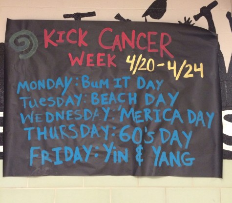 Kick Cancer Week Is Approaching