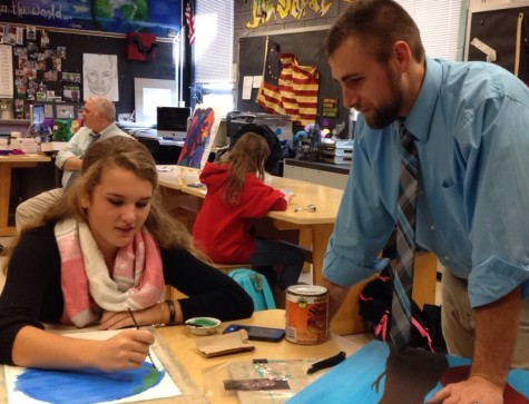 November's Teacher of the Month: Wesley Myers
