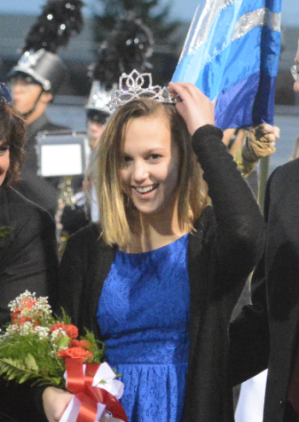 Keuler Crowned Homecoming Queen