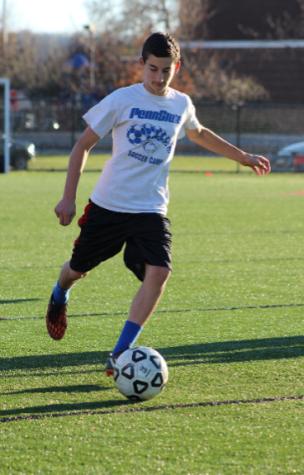 Sophomore Josh Smiley