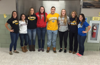 Seniors Commit to Future Plans