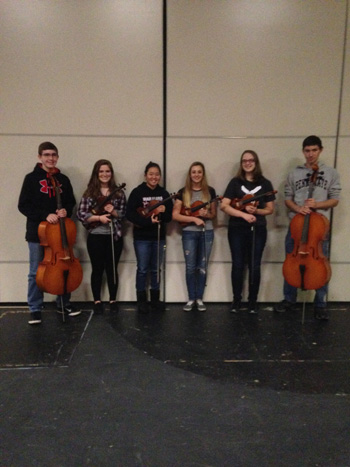 Orchestra Students Prepare for District Auditions