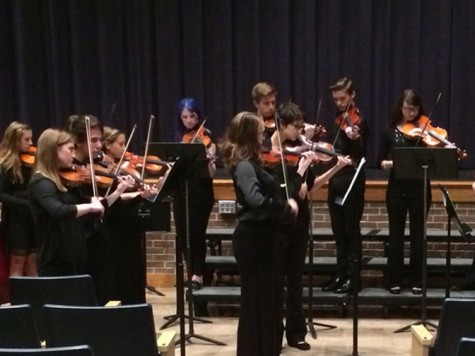 Students Present Winter Concerts