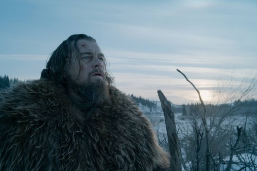 Leonardo DiCaprio realizes he still has, like, an hour and a half of movie left to travel through in