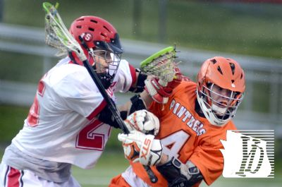 Boys lacrosse getting serious. Photo By: GameTimePa