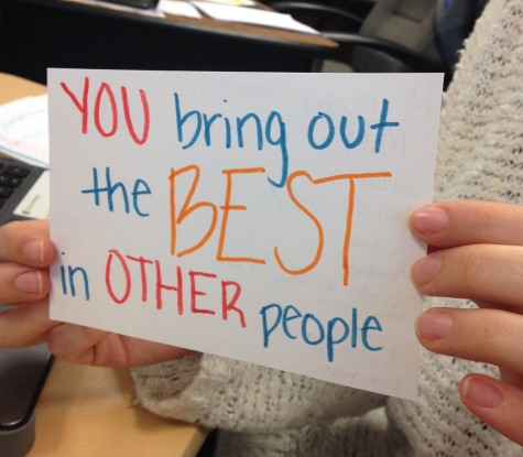 Students Embrace Random Acts of Kindness Day