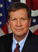 John Kasich. By Office of Ohio Governor John R. Kasich (Wikipedia:Contact us/Photo submission) [Public domain], via Wikimedia Commons