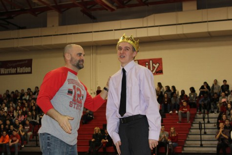 King of Hearts Pep Rally Energizes Students and Staff