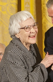 Award winning author Harper Lee. Photo Eric Draper