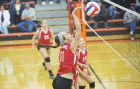 Savin swings down the line for a kill