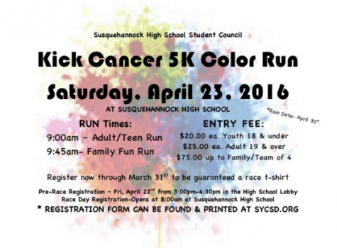Kicking Cancer One Color At a Time