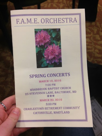 Orchestra Students Feel the F.A.M.E