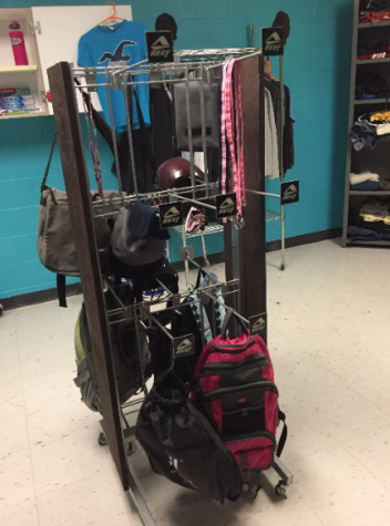 More equipment in the closet. Photo courtesy of Lisa Hall.