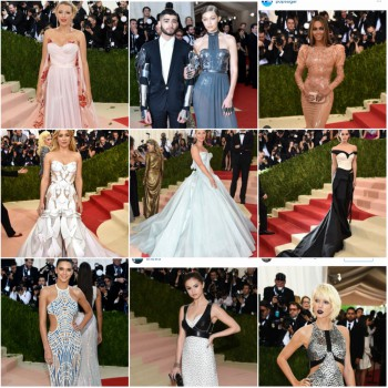 10 Best Dressed at 2016 Met Gala