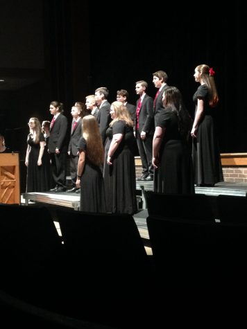 Chanticleer performed multiple songs apart from the whole choir.