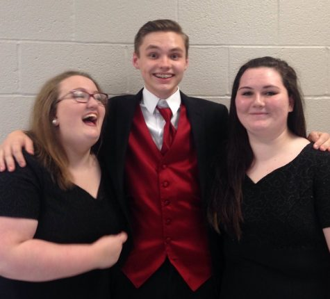 Rachel Sergent, Kaleb Fair and Shannon Moran expressed their excitement for the concert.