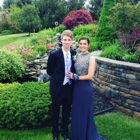 Junior Lucas Miller and Senior Abby Ferraro. Photo Courtesy of Lucas Miller.