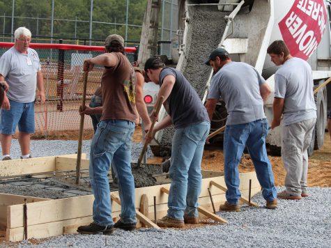 Susquehannock High School Student Construction Project Underway