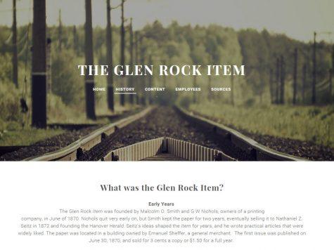 Susquehannock Students Create Local Historical Websites