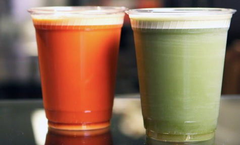 Nitro teas are being sold on the West Coast. photo credit to @PopsugarFood.