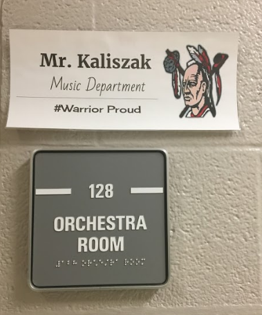 Mr. Kaliszak Returns to High School