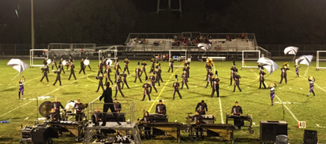Marching Band Blows Away Competition