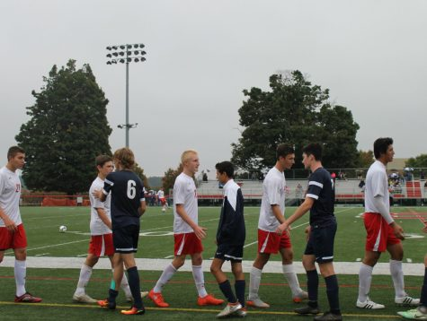 A humble win for Susky's varsity boy's soccer team.