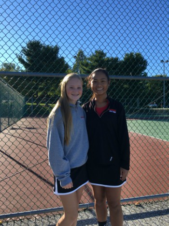 Girls Tennis Concludes at Counties