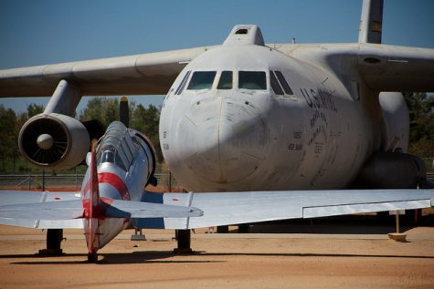 Hallman worked on planes such as this C-141 Starlifter.
