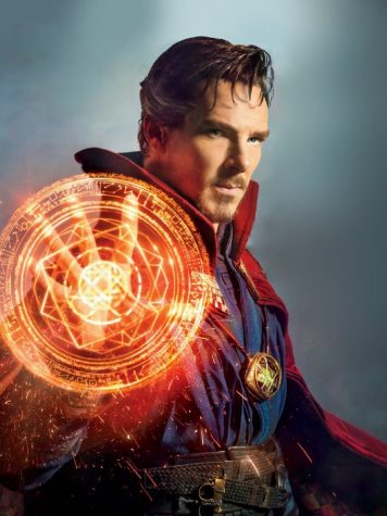Doctor Strange poses with his newfound powers in promo images. Photo from Flickr.
