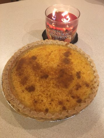 Homemade pumpkin pie is something everyone looks forward to. Photo by Emily Christian.