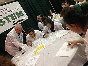 Students Explore Careers at STEM Summit