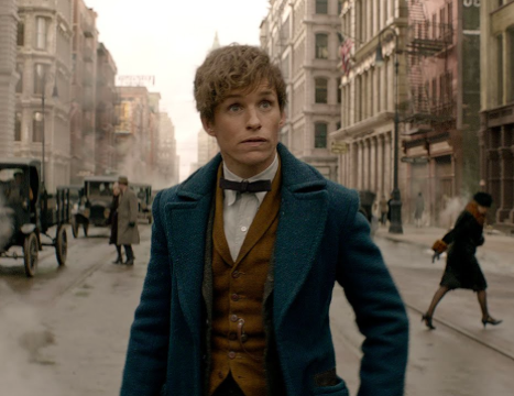 Newt Scamander(Eddie Redmayne) races against time to defeat the evil. Photo courtesy: http://www.fantasticbeasts.com