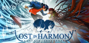 Kaito and Aya the characters of Lost in Harmony.