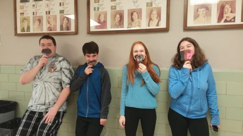 Students celebrate No Shave November by donating to and promoting the subject. Photo by: Ariel Barbera