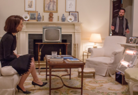 Natalie Portman as Jackie Kennedy in the new movie 'Jackie'. Photo courtesy Stephanie Branchu