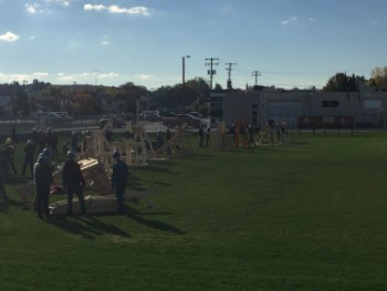 Teams Compete in Punkin' Chunkin' Competition
