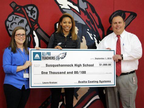 SHS Teacher Named All-Pro Teacher by the Philadelphia Eagles