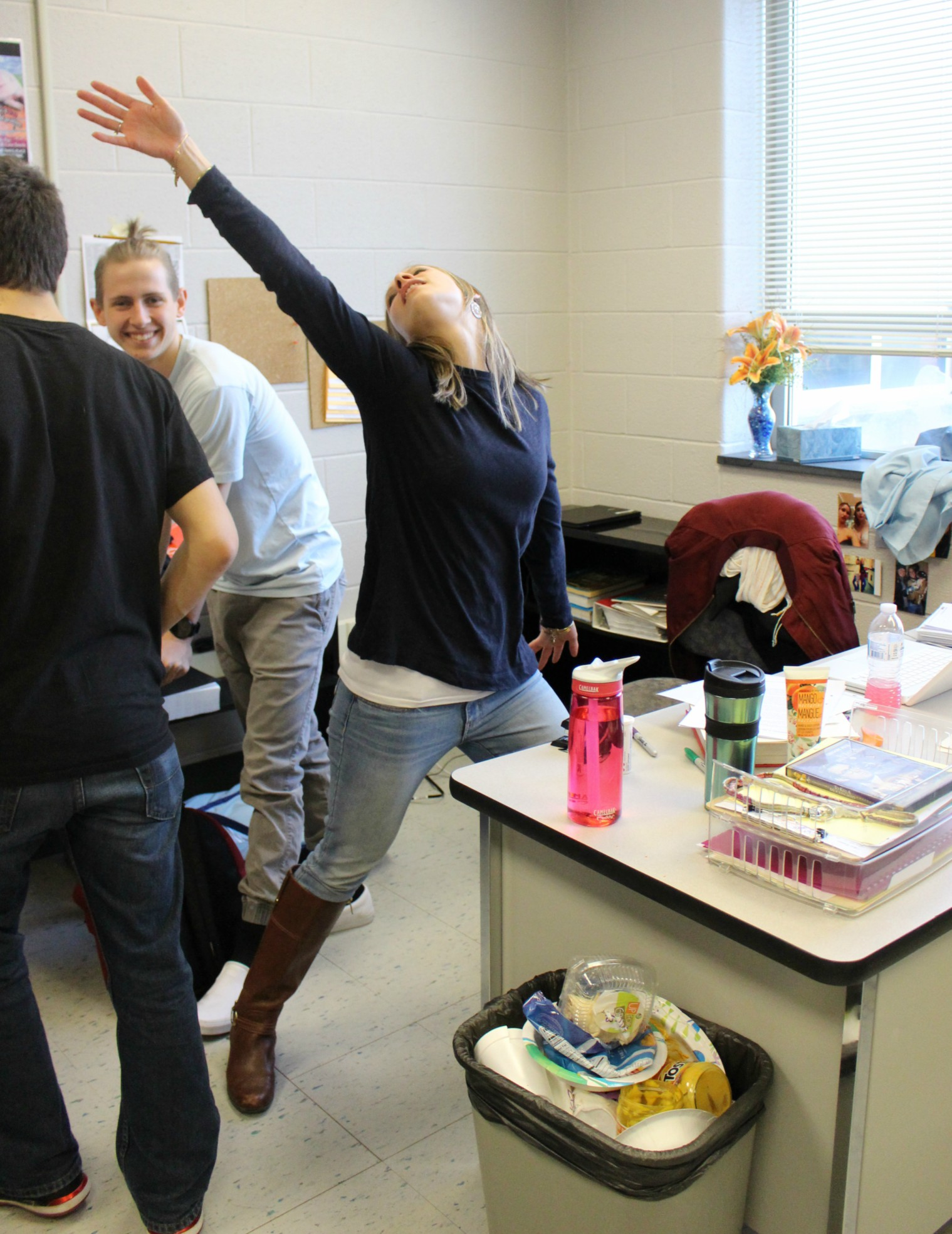 Ms. Smith being her outgoing self