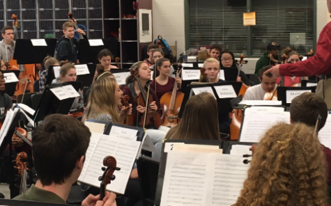 Orchestra Students Get Creative