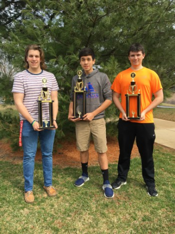 Students Compete in High School Bridge Building Competition