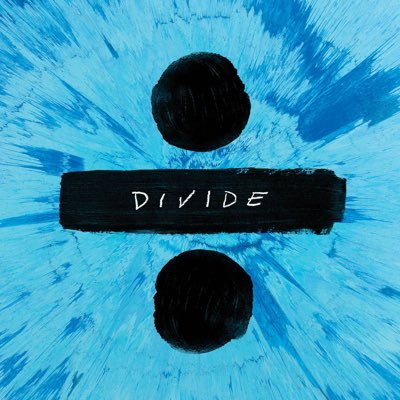 Ed Sheeran's album, ÷ , came out on March 3, 2017, and is the fastest selling album of 2017 so far.